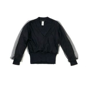 Krizia Maglia black wool sweater - 38